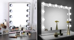 Where To Get Lighted Vanity Mirror Vanity Mirror Featured