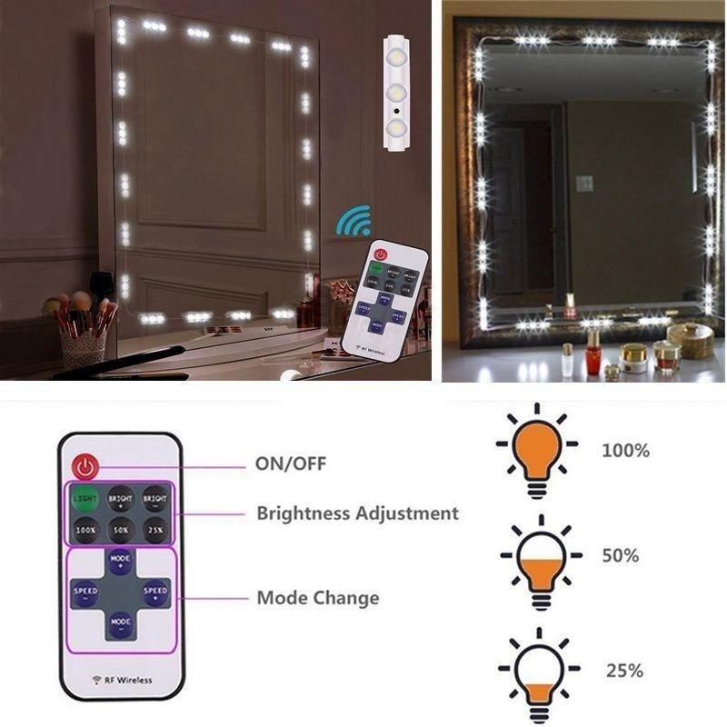 Where To Get Lighted Vanity Mirror Niceeshop Makeup Mirror Light1