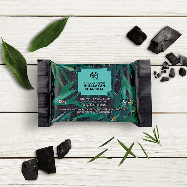 Activated Charcoal Skincare The Body Shop Himalayan Charcoal Purifying Facial Soap