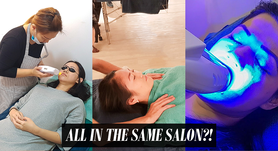 """One-stop salons"" are a thing – you can do all your beauty maintenance at one shot on the same day in these two salons"