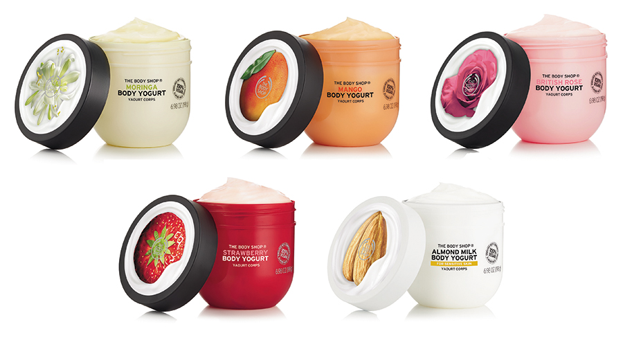 Skincare Round Up The Body Shop Body Yogurt