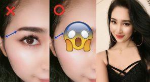Smaller Face Brows
