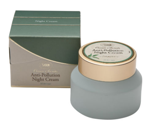 Sabon Ocean Secrets Anti Pollution Products Anti Pollution Night Cream 50ml