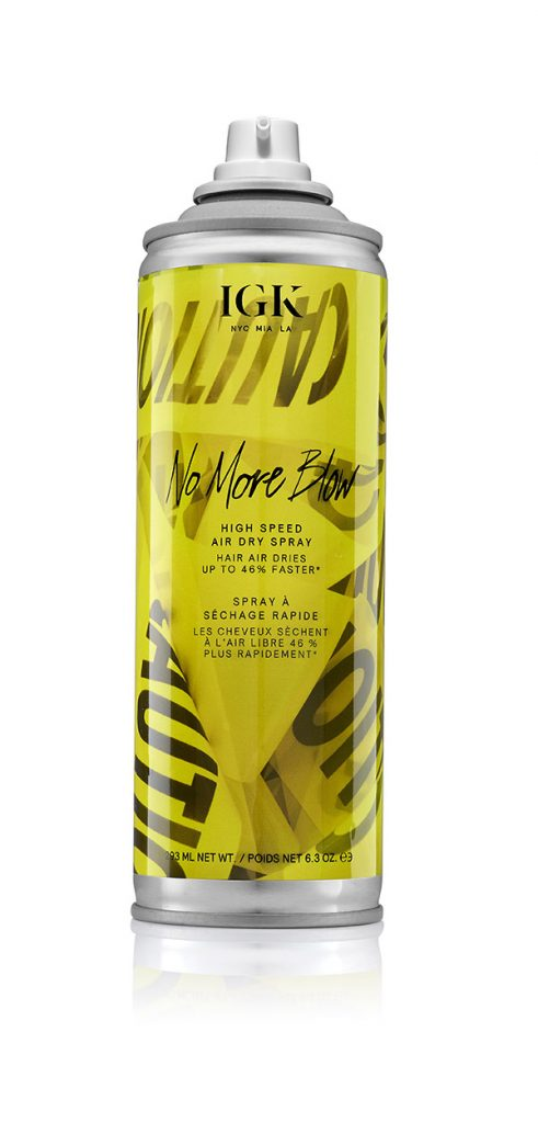 Sephora Buys You Cannot Miss Igk No More Blow High Speed Air Dry Spray