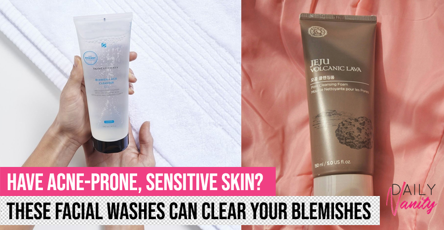24 acne cleansers and facial washes that people with acne-prone skin need to use right now
