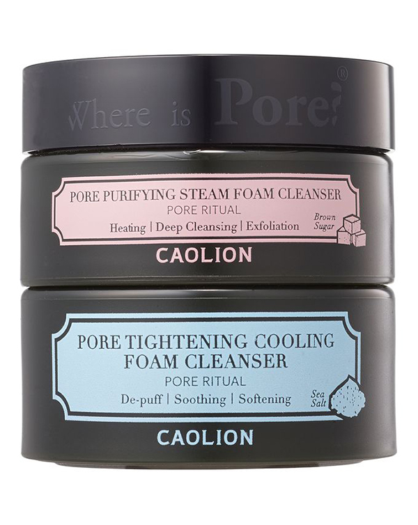 Best Korean Beauty Products Caolion Duo Foaming Cleansers
