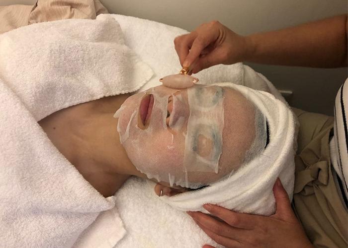 Sensitive Skin Facials Pure Tincture Algae Mask Facial Roller