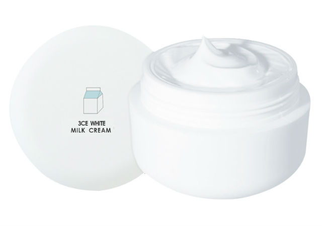 Best Korean Moisturisers 3ce White Milk Cream