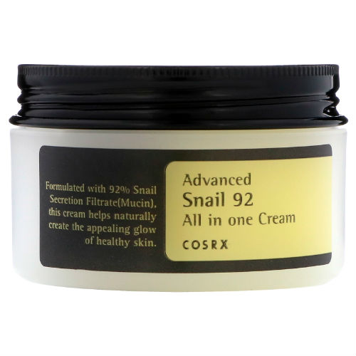 Best Korean Moisturisers Cosrx Advanced Snail 92 All In One Cream