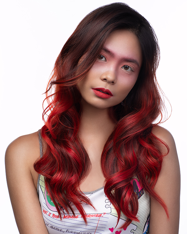 Best Salons For Vibrant Coloured Hair Bright Red Hair