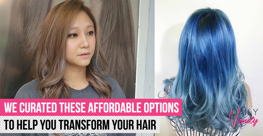 20 cheap salons for hair colouring that go as low as S$25