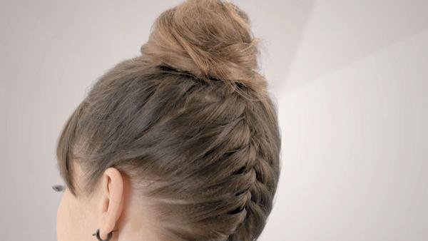 Easy Tips For Styling Short Hair Braid From Back To Front