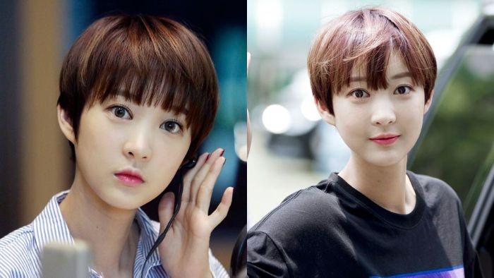 Korean Celebrities With Short Hair Park Hyerin