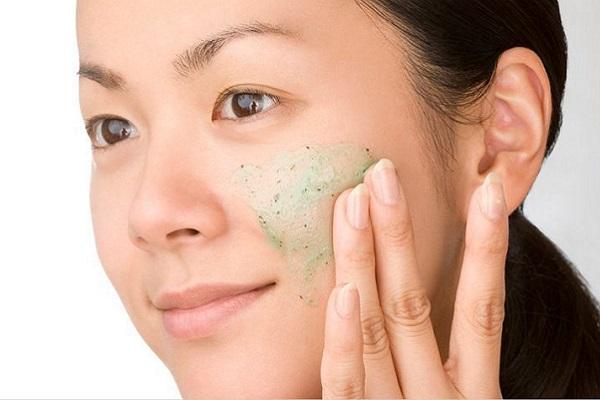 Face scrub body scrub