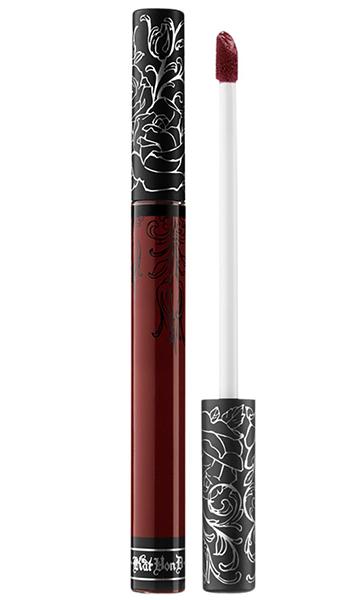 Vampy Lipsticks For Halloween Kat Von D Everlasting Liquid Lipstick Vampira