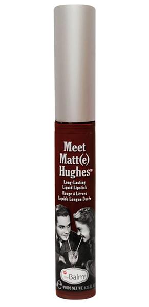Vampy Lipsticks For Halloween Thebalm Meet Matte Hughes Liquid Lipstick Adoring