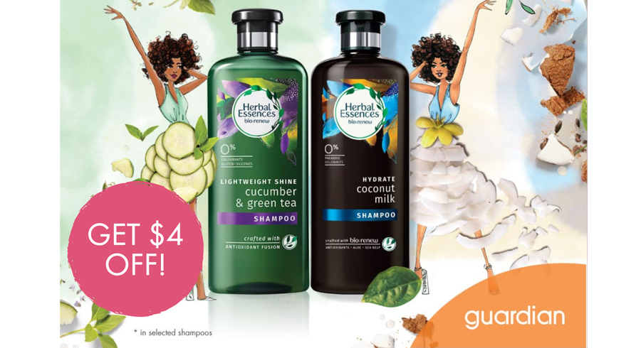 Get $4 off the Herbal Essences Bio:Renew that we raved about!