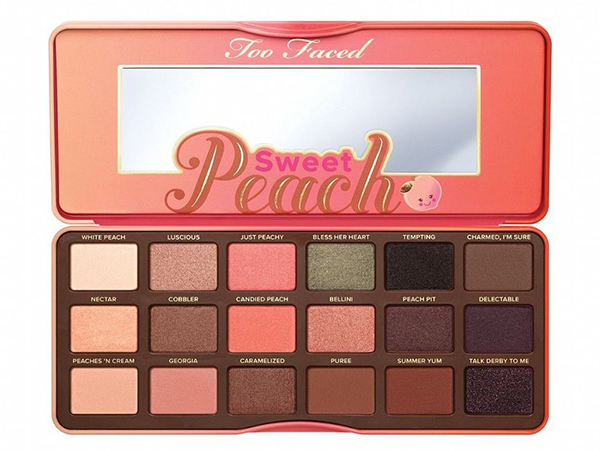 Coral Eyeshadow Palette Toofaced