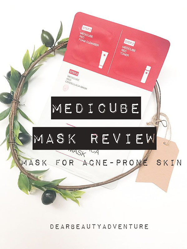 Medicube Review Red Centelleaca Mask
