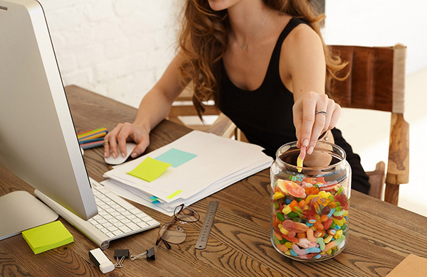 Work Is Making You Age Snacking