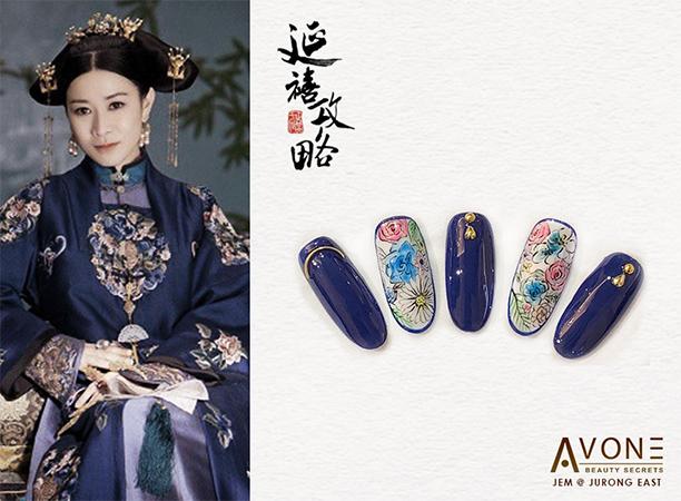 Yanxi Palace Nails Singapore Avone 2