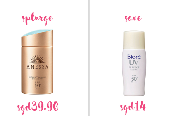 Best Holy Grail Dupes Anessa And Biore