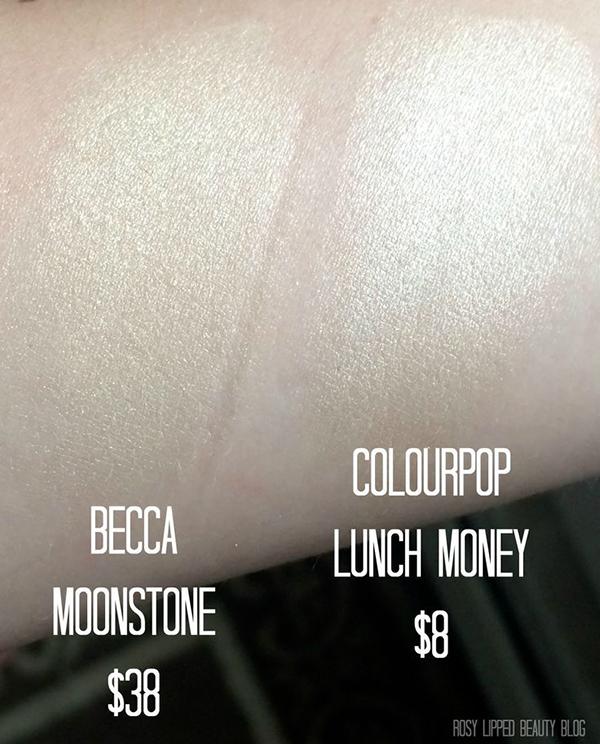 Best Holy Grail Dupes Becca Vs Colourpop Swatch