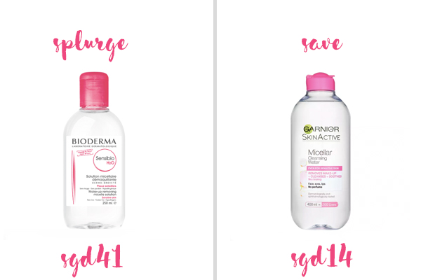 Best Holy Grail Dupes Bioderma And Garnier