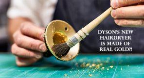 Dyson Supersonic 23.5 Karat Gold Hair Dryer