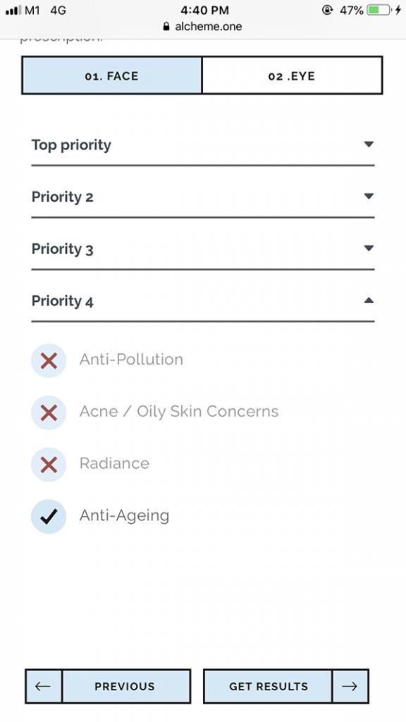Alcheme Bespoke Serum Review Priority