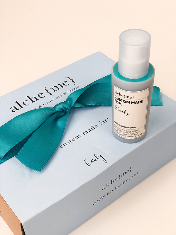 Alcheme Bespoke Serum Review Product Arrival