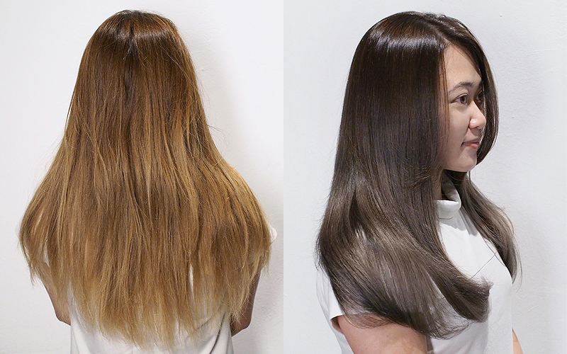 Be Salon Crp Nichole Before After