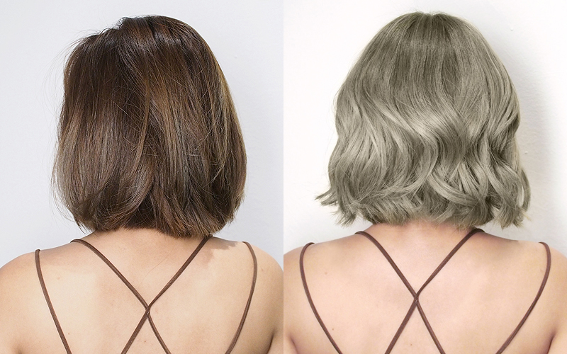 Be Salon Crp Phersal Before After