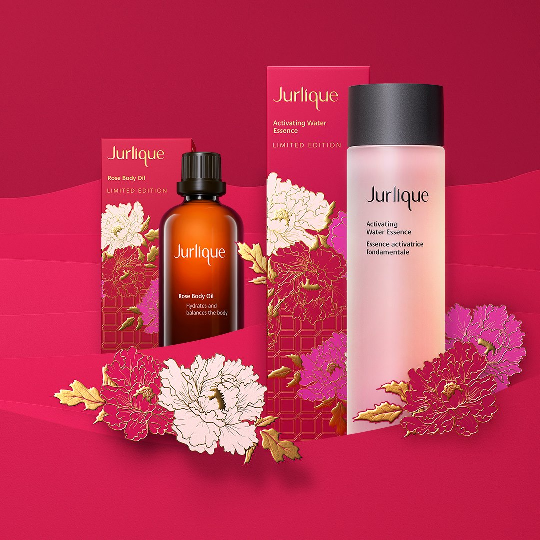 Cny 2019 Jurlique Activating Water Essence Limited Edition And Rose Body Oil Limited Edition