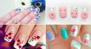 Chinese New Year Nail Designs Featured