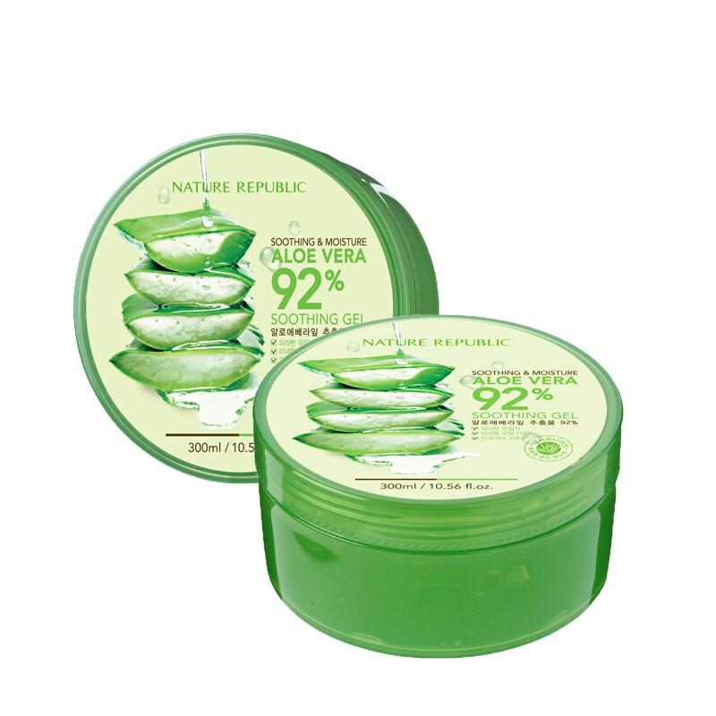 Beauty Under Sgd10 Nature Republic Aloe Vera 92 Soothing Gel