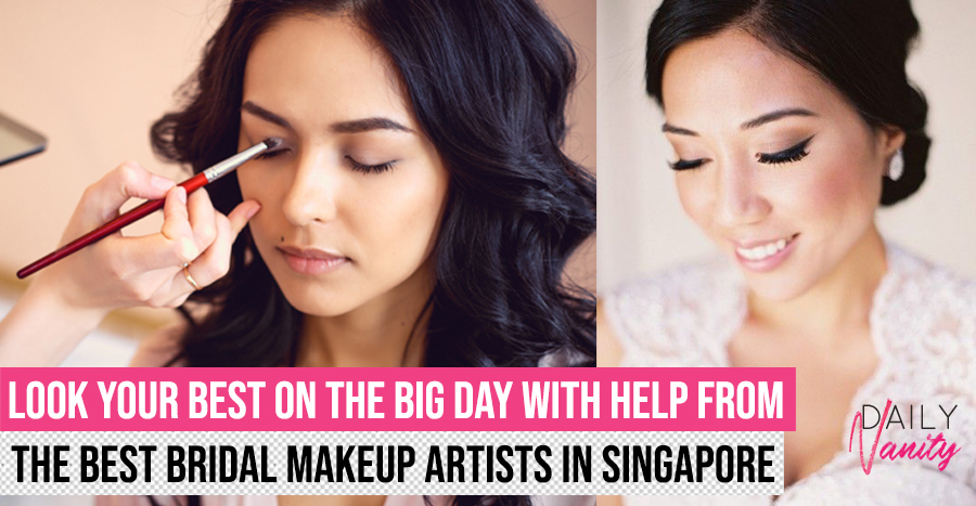 71 best bridal makeup artists in Singapore – rates and portfolio (2019 edition)
