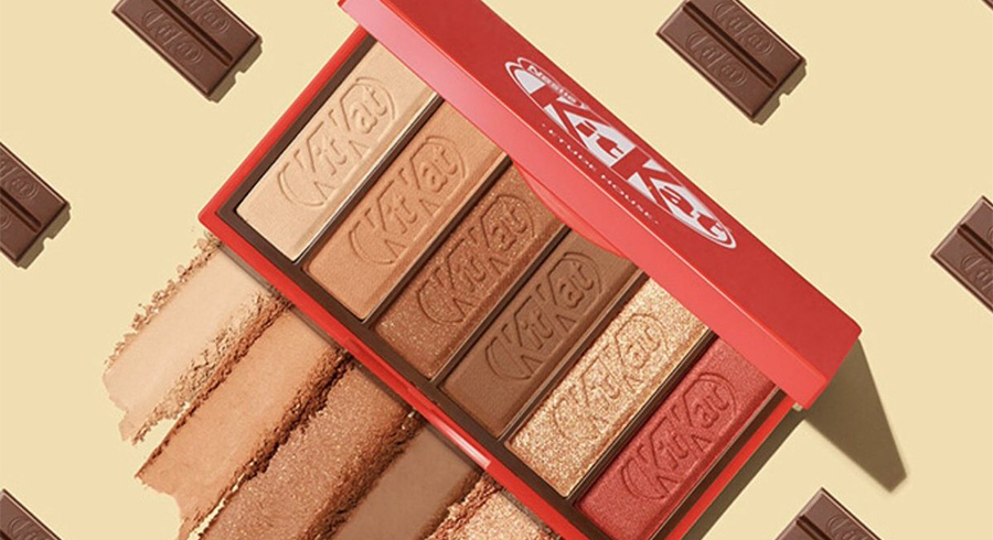 These KitKat eyeshadow palettes are too cute and we can't wait to add them to our collection
