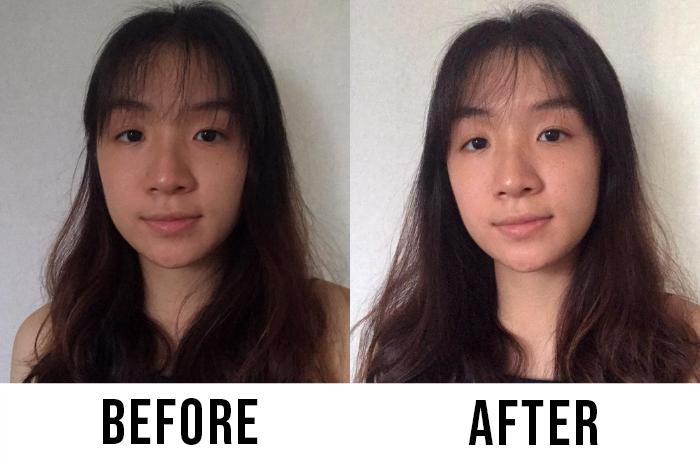 Himalaya Purifying Neem Face Wash Adelyn Eyu Before After