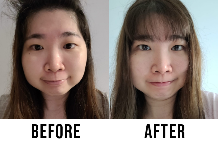 Himalaya Purifying Neem Face Wash Shuning Before After