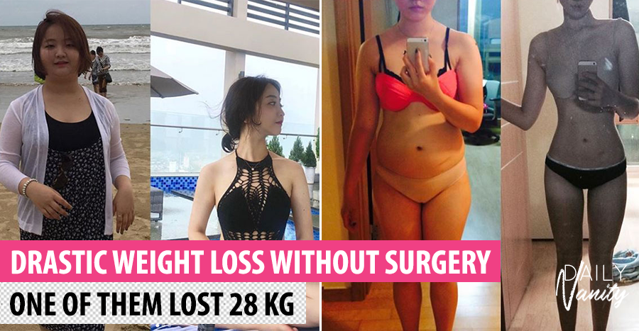 Here are the secrets of 4 Korean ladies who lost weight without surgery
