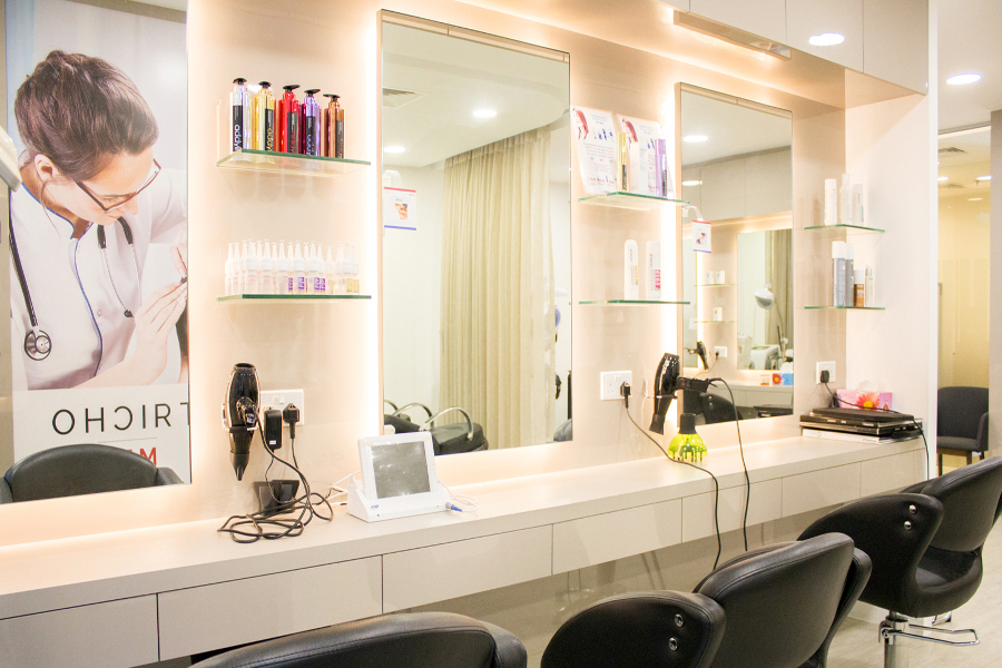 good and affordable hair salon in singapore 2019 - trichomed
