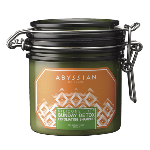 Clean Beauty Abyssian Sunday Detox Exfoliating Shampoo