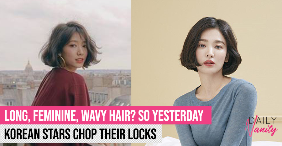 Short Hair Korean Stars