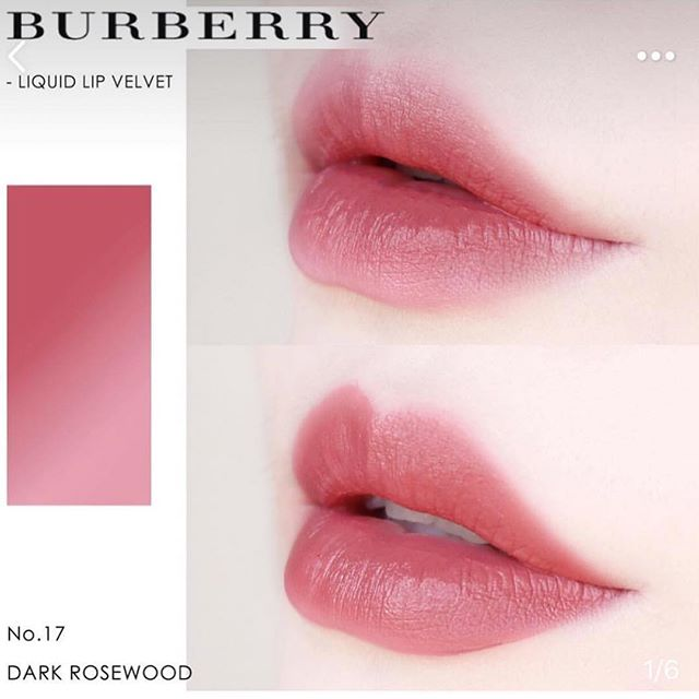 Red Bean Paste Lip Colour Burberry