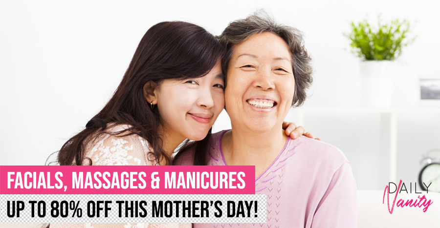 Pamper your mum this Mother's Day with salon services up to 80% off