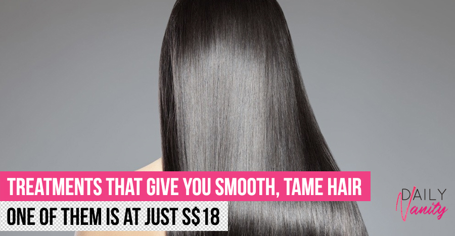 Anti-frizz hair treatments in salons that will give you good hair day, every day
