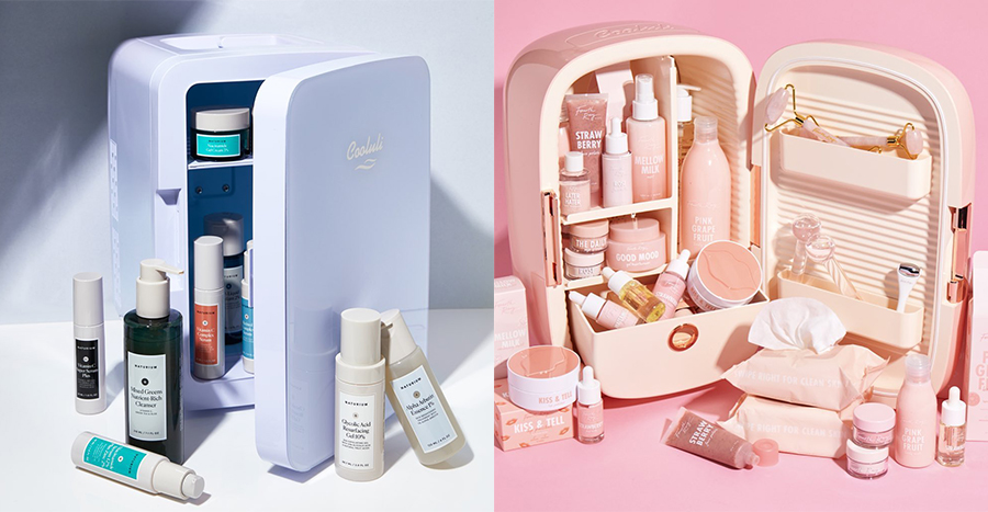 Beauty fridges are making a huge comeback and it's everything we need in our life now