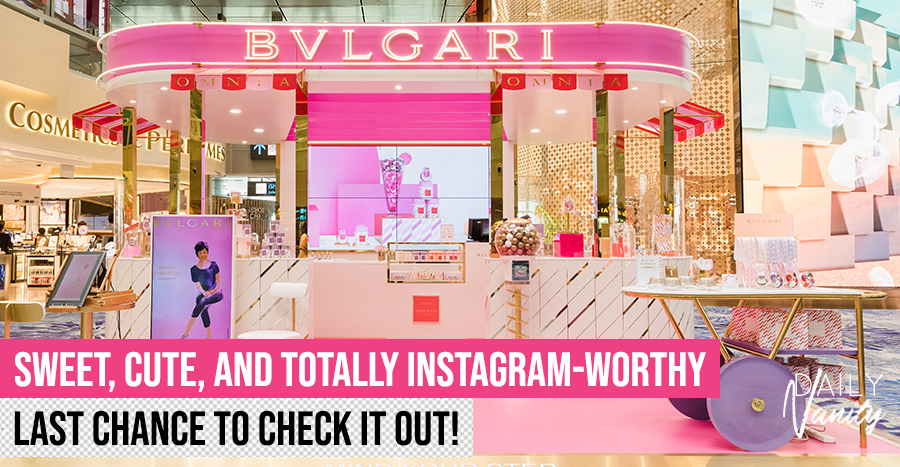It's your last chance to explore the whimsical Bvlgari pop-up concept store – the first in Asia Pacific!