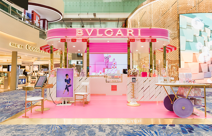 Bvlgari Pop Up Store Changi Airport